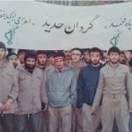 تصویری خاطره انگیز از رزمندگان گیلانغربی درحال اعزام به جبهه دردوران دفاع مقدس