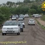 بازدید روزانه ۳ هزارنفر گردشگر نوروزی از تفرجگاه ناودار گیلانغرب