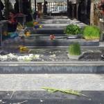 یادی ازگذشتگان درآخرین پنجشنبه  سال درشهرستان گیلانغرب+ تصاویر