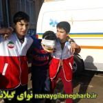 برگزاری مانوز زلزله وایمنی در مدارس گیلانغرب+ تصاویر