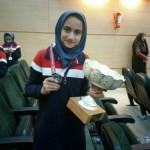دانش آموزدختر گیلانغربی بعنوان بهترین دروازبان فوتسال دانش آموزی کشورانتخاب شد