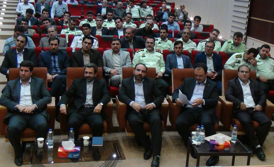 برگزاری مراسم تکریم و معارفه رئیس دادگستری و دادستان شهرستان گیلانغرب