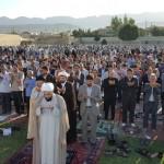 نماز پرفیض عید سعید فطر در گیلانغرب برگزار شد+تصاویر