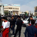 برپایی ایستگاه صلواتی وسلامت درروز تاسوعای در گیلانغرب