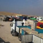 صادارات بیش از ۳۴۰۰ تن کالا از مرز سومار به کشور عراق
