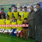 تیم دبیرستان شهید سهراب الفتی گیلانغرب  به مقام سوم فوتسال آموزشگاههای استان کرمانشاه دست یافت