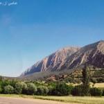 تصویری از کوههای حیدریه