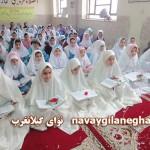 برگزای جشنواره قرانی در دبستان دخترانه  زینبیه گیلانغرب + تصاویر