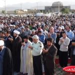 نماز باشکوه عید فطر در گیلانغرب برگزارشد+ تصاویر