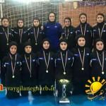تیم فوتسال دختران زیر ۱۴ سال کرمانشاه دراولین المپیاد استعدادیابی نخبگان فوتسال کشوربه مقام قهرمانی  رسید