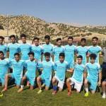 تیم فوتبال استعداهای درخشان گیلانغرب بانتیجه ۳ بریک بعث کرمانشاه را شکست داد