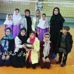 آموزشگاه حضرت رقیه(س) قهرمان مینی والیبال دختران گیلانغرب شد