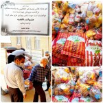 ۸۰خانواده نیازمندگیلانغربی سبدغذایی دریافت کردند